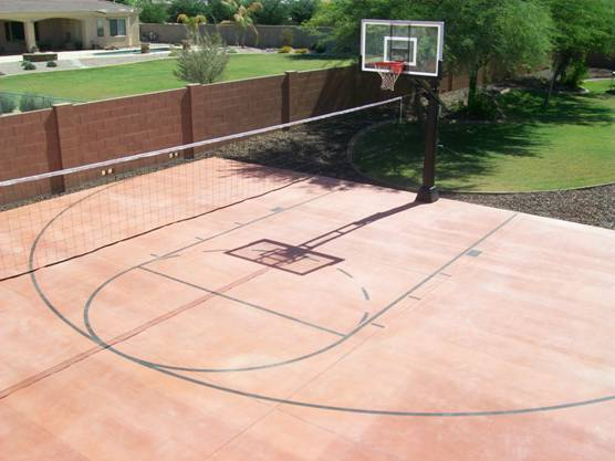 Az Hoops Arizona S Installed Basketball Goals