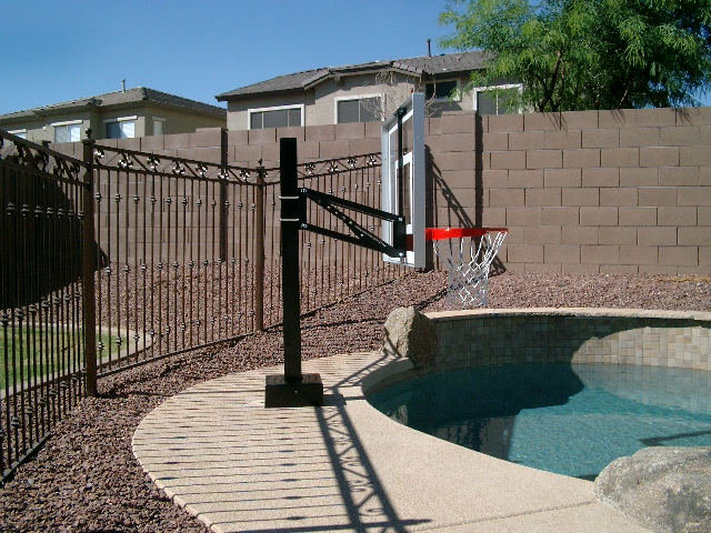 Az Hoops Arizona 39 S Installed Basketball Goals