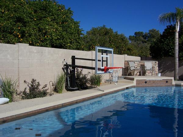 heavy duty flex goal - In Ground Basketball Hoop